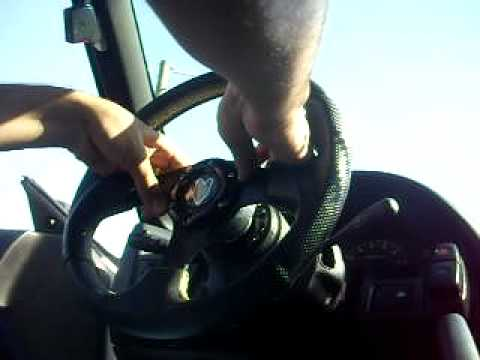 JDM steering wheel with NRG Quick Release!!
