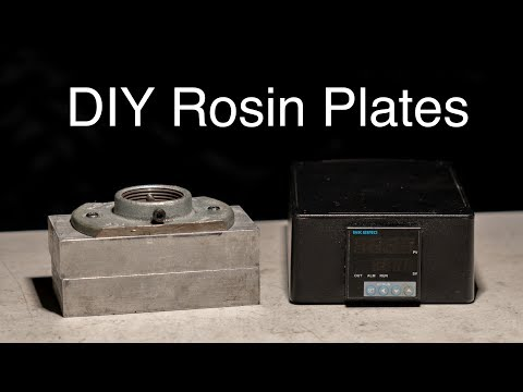 DIY Rosin Press and Plates