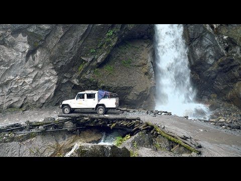 Download Dangerous and Scary Road | Way To Manang, Nepal |