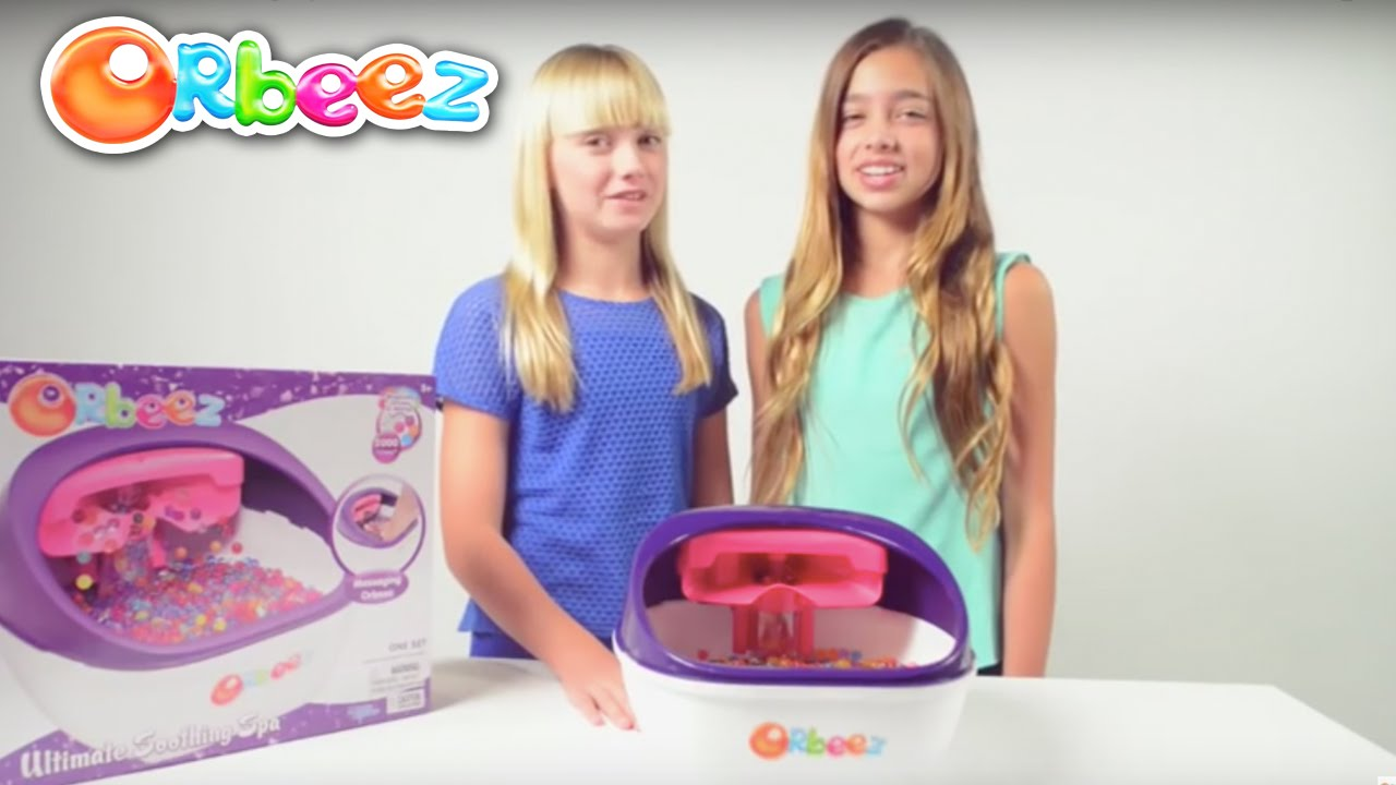 Orbeez Ultimate Soothing Spa Instructional Video with the Orbeez Girls |  Official Orbeez - YouTube