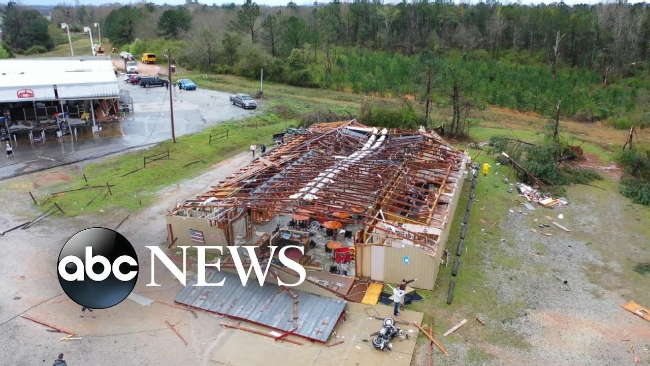 Alabama tornadoes devastate towns, leaving at least 23 dead