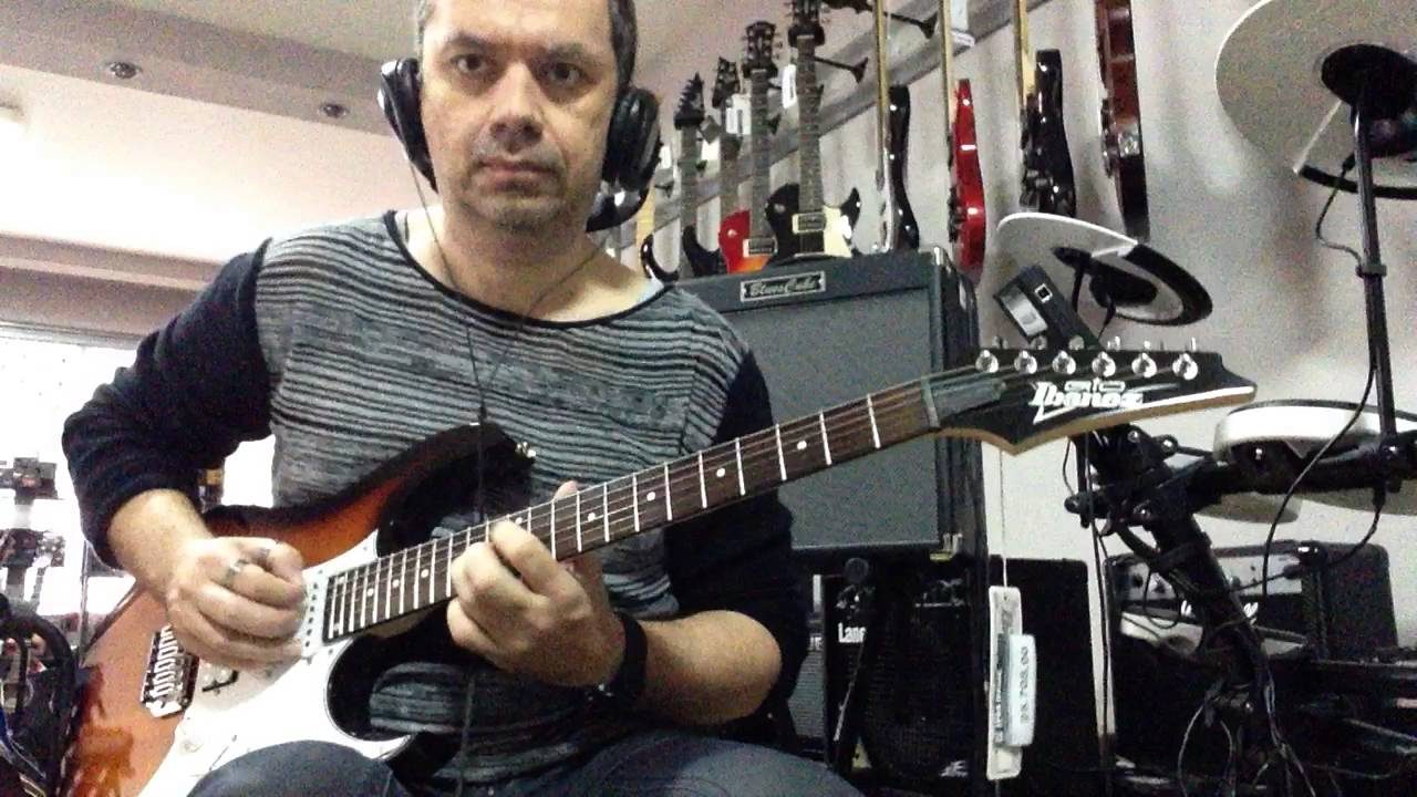 ibanez gio grg 140 roland blues cube hot boss looper rc 3 review part 2 youtube. Black Bedroom Furniture Sets. Home Design Ideas