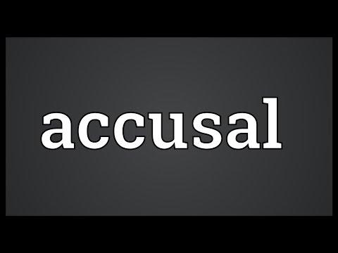 Header of accusal
