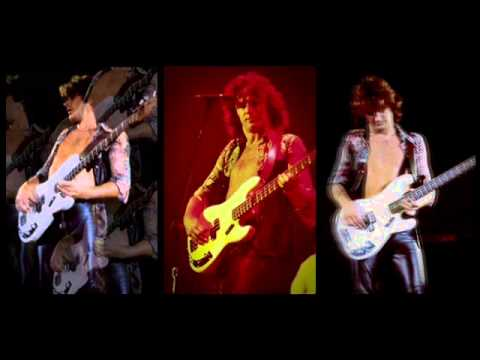 Uriah Heep with John Wetton - Sweet Loraine bass solo (live version)