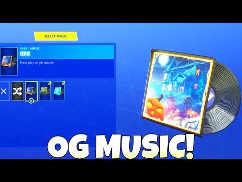 OG LOBBY MUSIC IS BACK! Fortnite Battle Royale