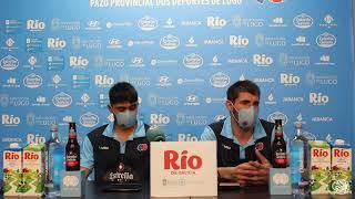 Video Erik e Sergi Quintela, previa Copa Galicia 2021