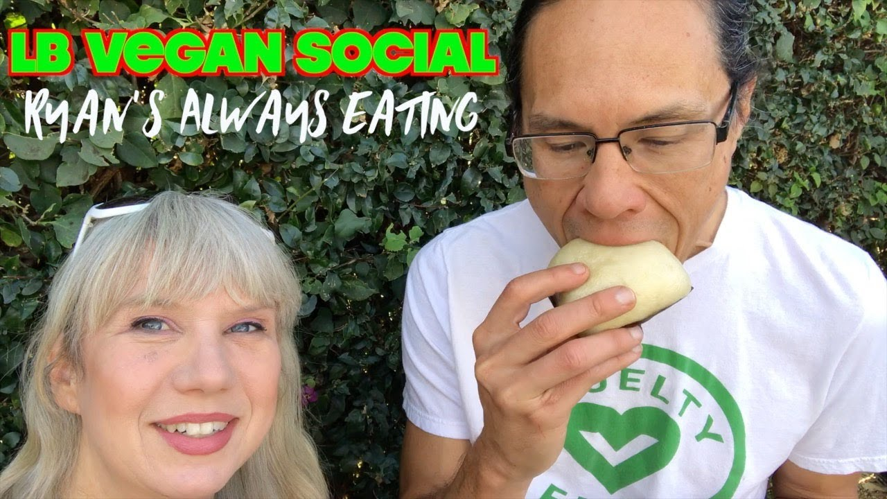 Ryan's Always Eating Vlog: Long Beach Vegan Social Popup