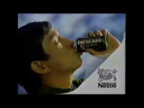 ネスカフェの缶コーヒー センスがちゃう! アウトドアグッズプレゼント CM 1997年
