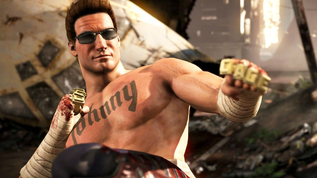 Image result for Johnny Cage