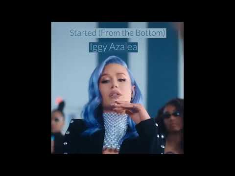 Iggy Azalea - Started (From The Bottom) (Official Audio)