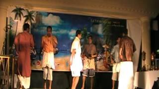 MALAYALAM ONAM DANCE by DERRY BOYS Oru Madhurakinavin Aa Paralu Song Malayalam Comedy Kerala Dance