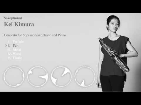 Soprano saxophone concerto by John Mackey