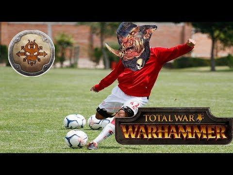 Norsca vs Greenskins - THROGG KICKS | Total War Warhammer Online Battle #266