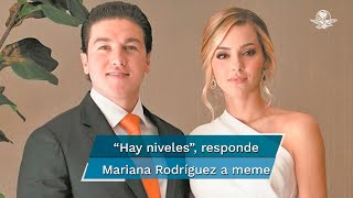 La influencer rechazó que su relación con el gobernador de Nuevo León, Samuel García, sea similar a la del expresidente de México