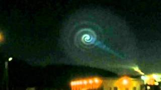 Giant sky spiral shocks Norwegians in December 2009 thumbnail
