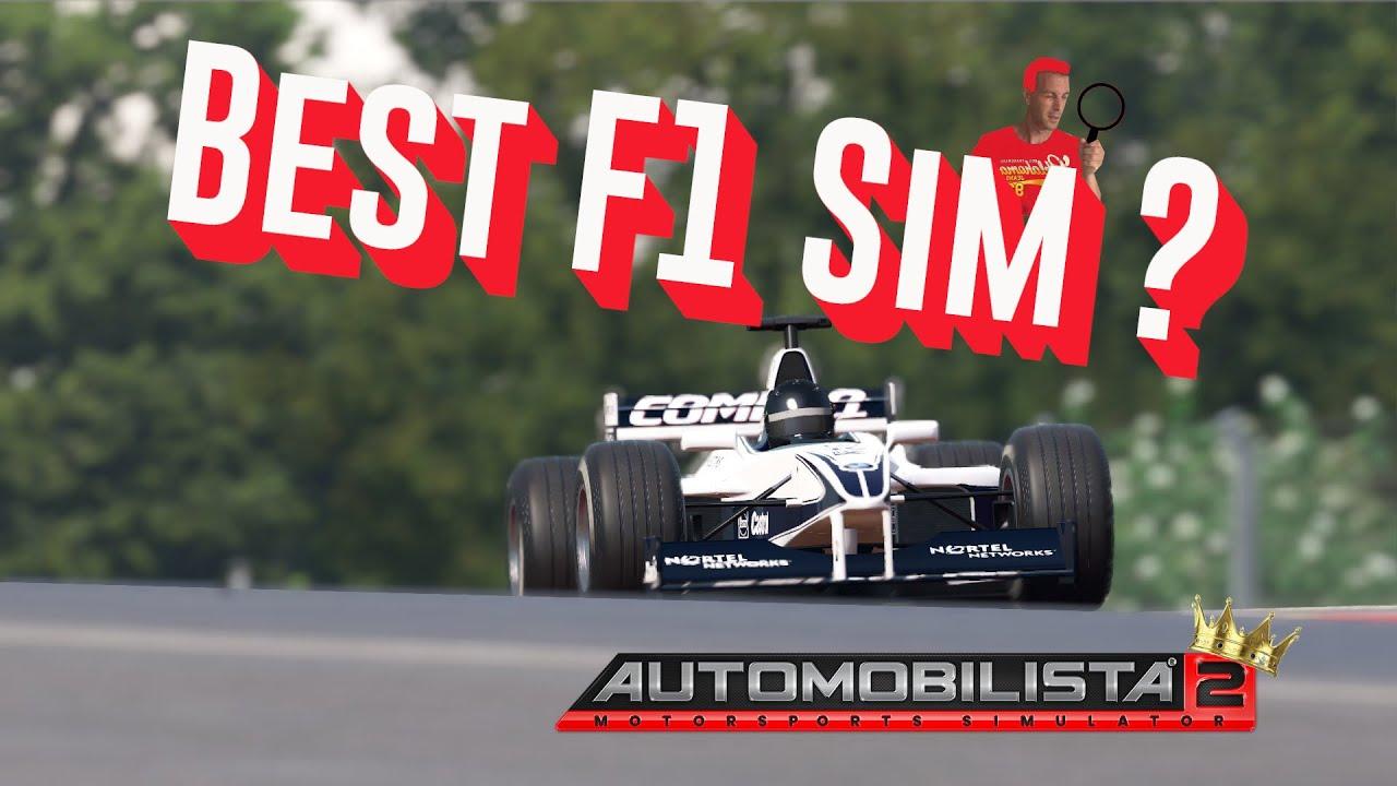 The best Formula 1 racing sim