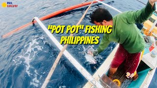 """BEST TRADITIONAL FISHING  NA ANG TAWAG AY """"POTPOT"""" CATCHING YELLOWFIN & SKIPJACK  TUNA @ PHILIPPINES"""