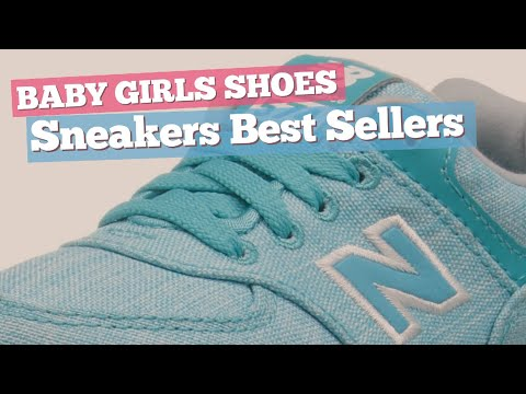 Sneakers Best Sellers Collection // Baby Girls Shoes