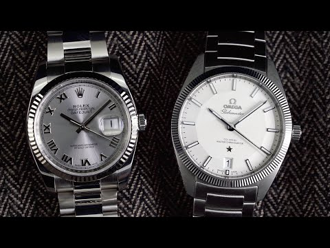 OMEGA Globemaster vs Rolex Datejust  A Viable Alternative to the Datejust? 2019 Review