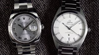 OMEGA Globemaster vs Rolex Datejust   A Viable Alternative to the Datejust? (2019 Review)