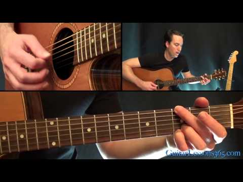 Down In A Hole Unplugged Guitar Lesson - Alice in Chains