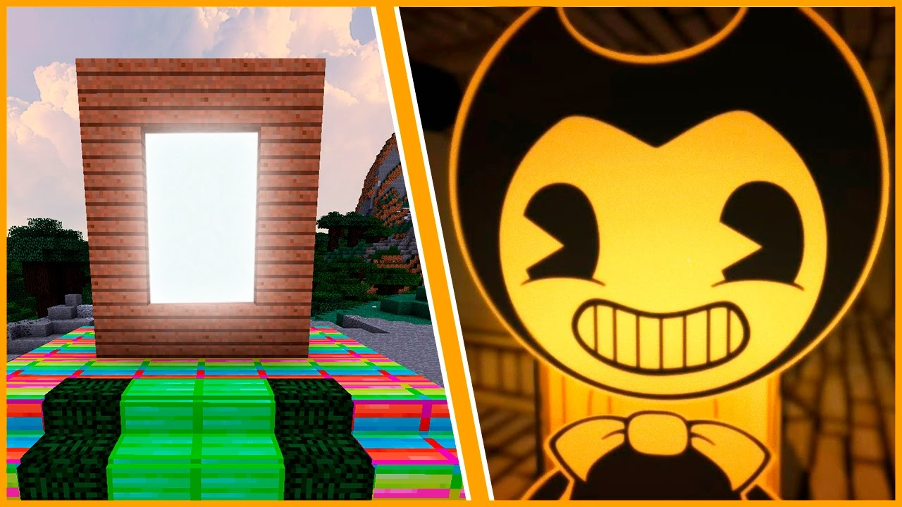 bendy and the ink machine minecraft mod