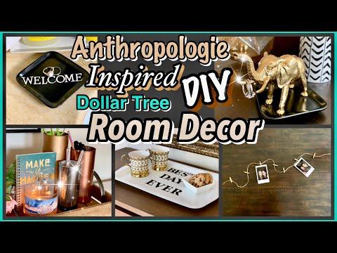 Anthropologie Inspired DOLLAR TREE DIY ROOM DECOR