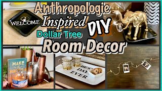 Anthropologie Inspired DOLLAR TREE DIY ROOM DECOR