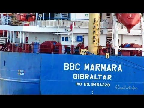 BBC MARMARA ZDJS3 IMO 9454228 cargo seaship merchant vessel Frachtschiff Seeschiff Emden