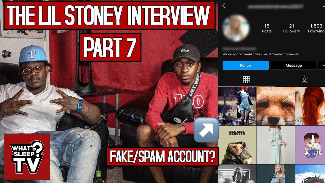 "Lil Stoney Talks People Buying Fake Views ""If I Say Something About It, I'm A Hater"""