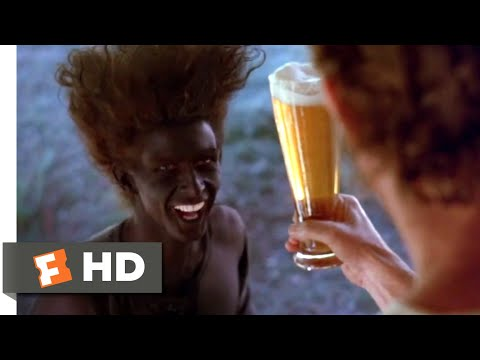 Young Einstein (1990) - Bubbles into Beer Scene (1/8) | Movieclips