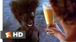 Young Einstein (1990) - Bubbles into Beer Scene (1/8)   Movieclips