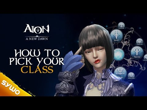 AION Relaunch 2018 | How To Pick Your Class