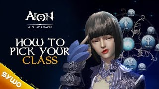 Обложка на видео о AION Relaunch 2018 | How To Pick Your Class