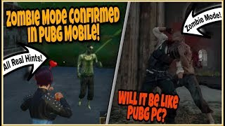ZOMBIE MODE Confirmed in Pubg Mobile 2019? | Will It Be Like Pubg PC Zombie Mode?