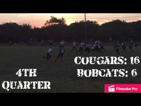 Clint Small Cougars 7th Grade Football