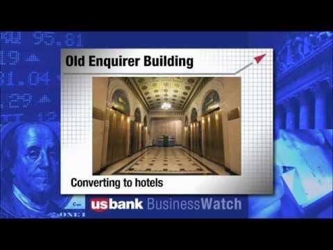 Trend of Converting Downtown Cincinnati Buildings into Hotels - U.S. Bank Business Watch - 5/5/13