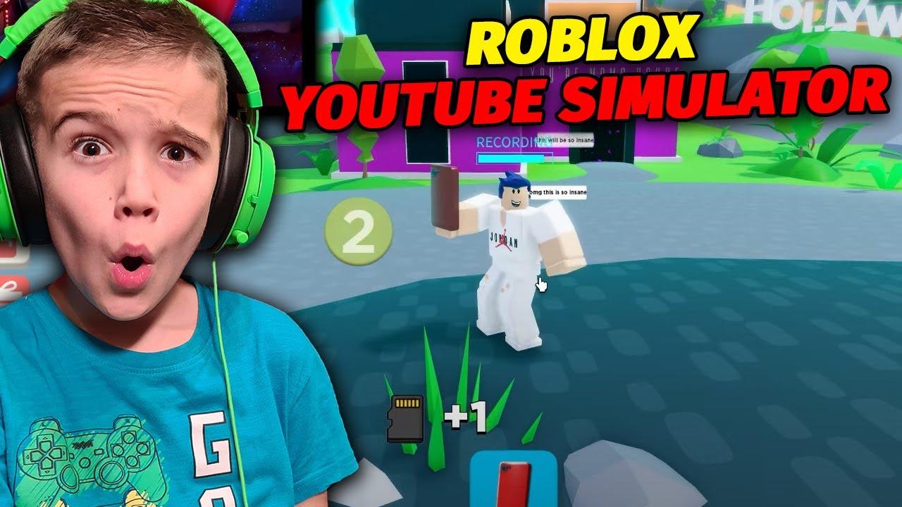 ΓΙΝΑΜΕ YOUTUBERS στο ROBLOX! Roblox YouTube Simulator Odyssey Gamer