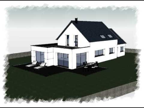 Arteco254 plan maison bretagne youtube - Plan de maison bretagne ...