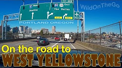 Portland Oregon to West Yellowstone Montana - Full Time RV Travel