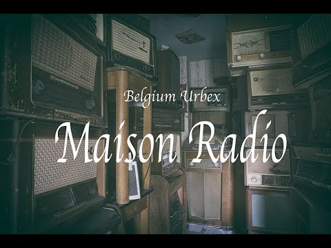Belgium Urbex Maison Radio sad abandoned house with wedding photo and collection of radios time warp