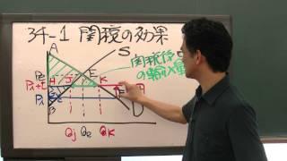 石川秀樹先生「速習!ミクロ経済学」 第34回 保護貿易 1/4