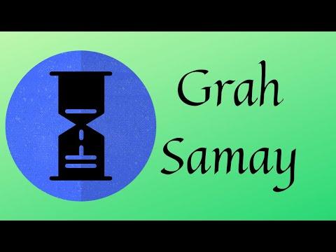 Graha Samaya - A quick way for knowing Dasha results