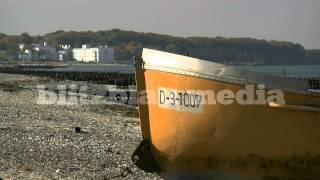 Stock Footage Europe Germany Baltic Sea Boat Heiligendamm Börgerende Mecklenburg Boot Travel