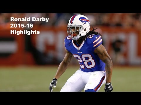 Ronald Darby Highlights - NFL's ELITE - 2015-16 NFL Highlights - HD