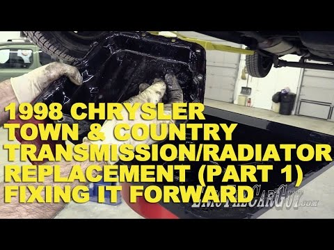 1998 chrysler town country transmission radiator replacement part 1 fixing it forward youtube. Black Bedroom Furniture Sets. Home Design Ideas