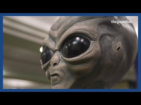 Hanging out at a UFO convention: 'I saw aliens twice'