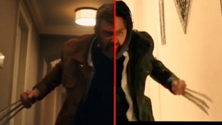 logan trailer re creation side by side comparison