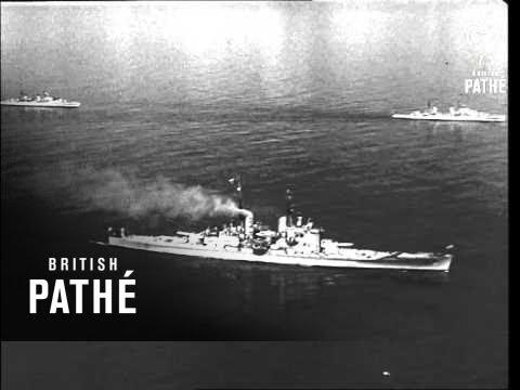 HMS Vanguard At Sea (1947)