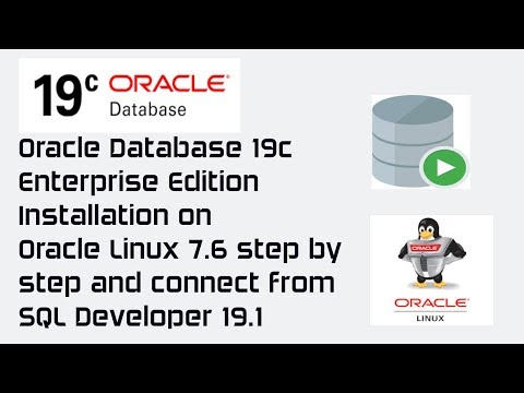 Oracle Database 19c Installation On Oracle Linux 7.6 Step By Step   Offline And Manual Install